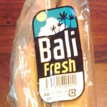 新商品のインドネシア産バナナ「Bali fresh」