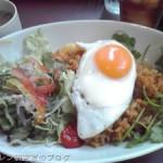 吉祥寺のジャズ喫茶 SCRATCHのナシゴレンランチ