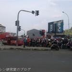 車から見たインドネシアの風景