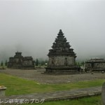 ジャワ島最古のヒンドゥー遺跡、アルジュナ寺院群
