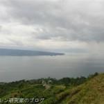 世界最大のカルデラ湖、スマトラ島トバ湖