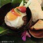石垣島「プラウカビラ」のナシゴレンランチ