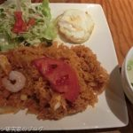 神保町シンガポール料理店「マカン」のナシゴレンランチ